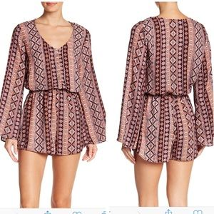 Show Me Your MuMu Red Rocks Romper